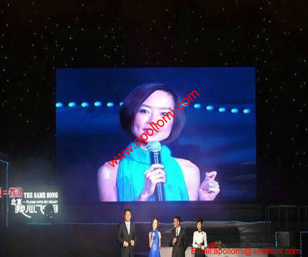 3D 4K HD support video advertising led display P10mm