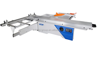 Precision sliding table saw machine woodworking