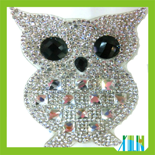 Wholesale iron on gymnastics rhinestone transfers