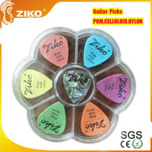 guitar picks of tortoise shell celluloid