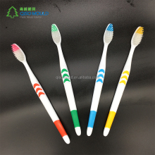 Oral Care colour hollowed soft Small white moon plastic toothbrush