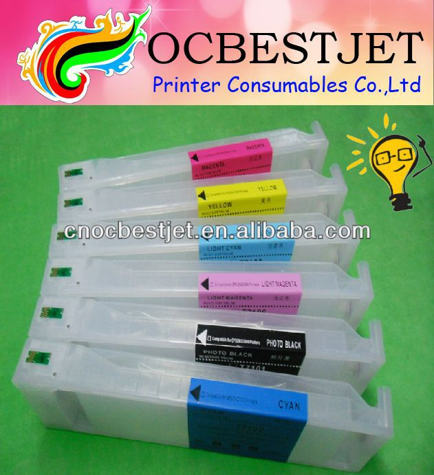 High Quality Compatible Epson Surelab D3000 Refillable Ink Cartridge