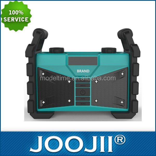 2016 high quality new jobsite radio with BT water- resistant