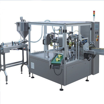 Stainless steel premade pouch spices powder filling packing machine