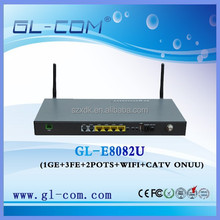 CATV EPON ONU FTTB MDU for fiber to the building solution
