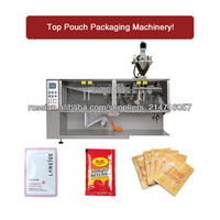 2016 NEW powder form fill seal machine BHS-130Flat sealing bag packing machine