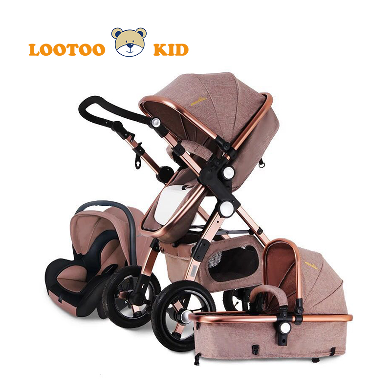 Alibaba china factory newest model good quality multifunctional baby doll stroller with car seat