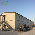 Affordable price two storey steel material easy assembling prefab house kits