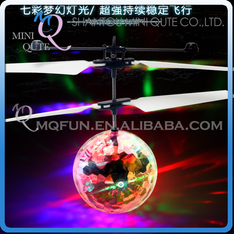 Mini Qute RC remote control flying Helicopter kawaii flash Led Ball cartoon model plastic doll kids Electronic toys NO.XH608-7