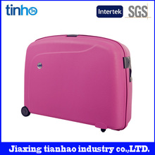 Colorful lugagge high quality pp abs pc luggage