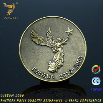 china supplier professional custom gold silver two tone metal military challenge antique souvenir coin