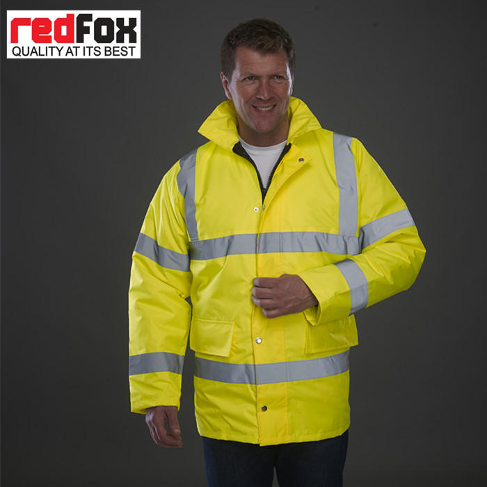 High Quality Man Waterproof Safety Winter Jacket In Stock