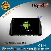 Android 4.4 2 system 10.1inch touch screen for 2015 Mazda cx5 car dvd gps navigation system