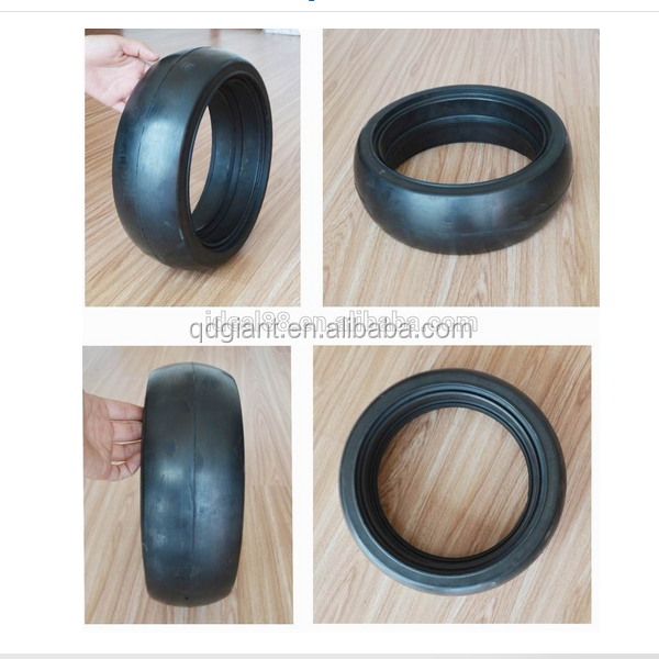 SEMI solid rubber agricultural wheel 330x100