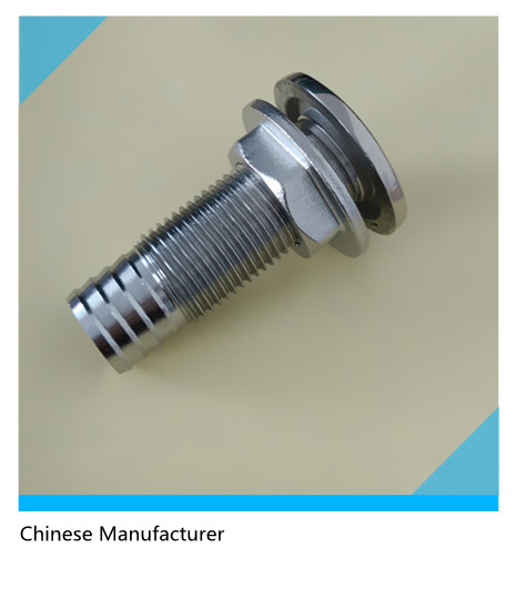 "SS316 Boat Marine Hardware Fitting 3/4"" Intake Strainer BSP Male Thread"