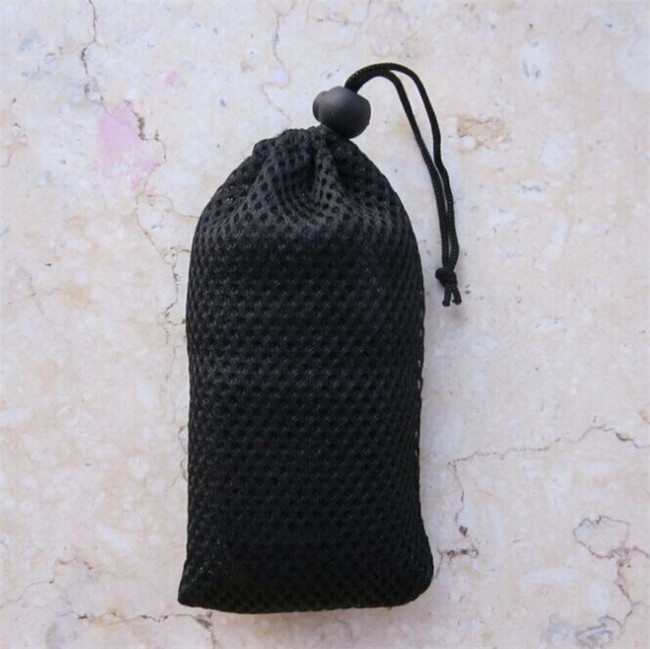 shower surface drawstring mesh bag
