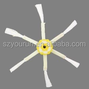 Side Brush for Robot Roomba 500 600 700 Series Cleaner Side Brush 6 Arms Side Brush Robot Roomba Accessory