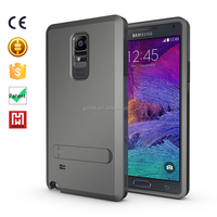 kickstand armor safety Strong Box Case TPU+PC 3 in 1 cover for mobile phone for galaxy note 4