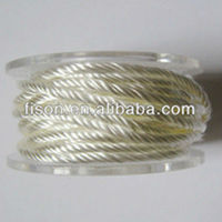 popular oil stove wick for E cigarette2.5mm