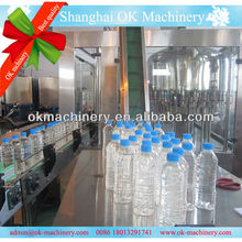 Automatic water filling machine plant