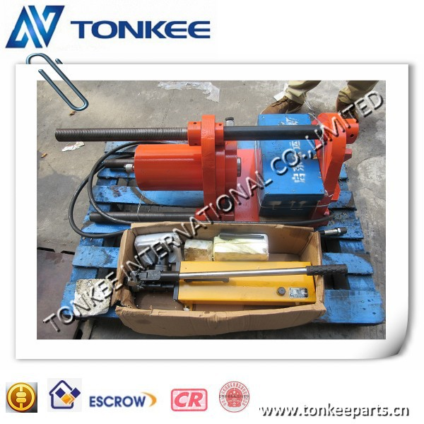 High quality 100T Hand power hydraulic track pin press & master pin press, portable pin press 100T