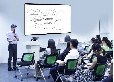 55 inch wall mounted interactive touch screen panel all in one multimedia machine touch display for teaching