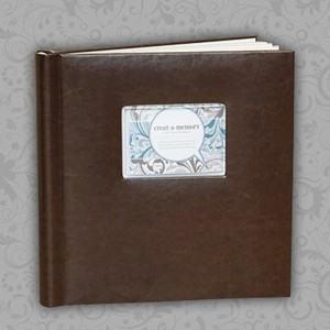 Voice recording recycled handmand paper photo album