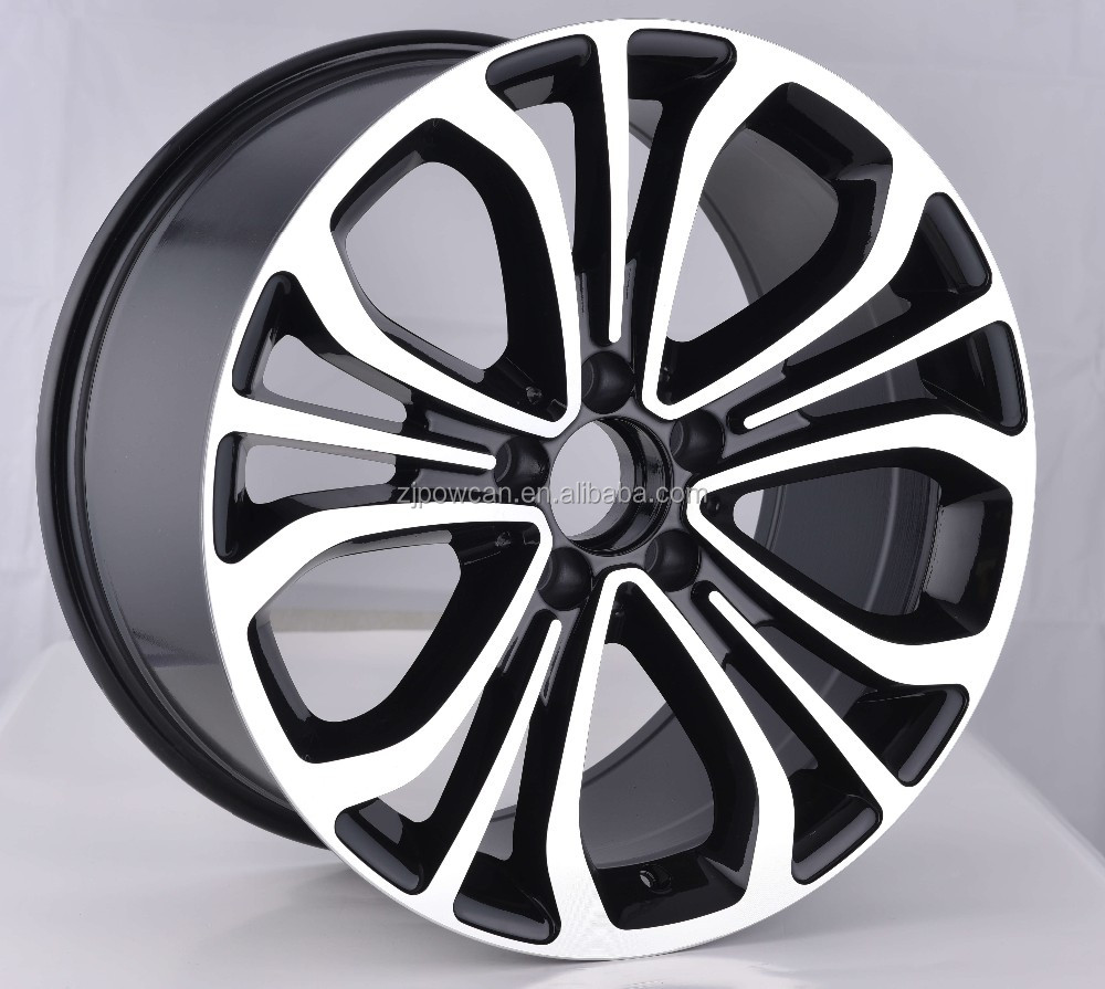hot replica wheel rim for mag wheels fit for car wheels 5/112 with POWCAN and Baokang produce