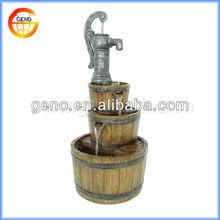 High Quality 2014 Pumpe Form Indoor Glas Wasser Brunnen Ventil