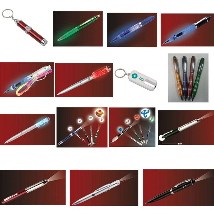 Ce Approval Led Light Logo Pen