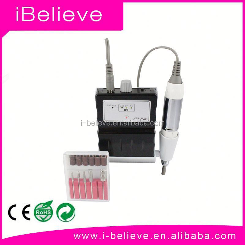 2015 New Arrival Cordless & Rechargeable Portable Electric Nail Drill dental implant mator