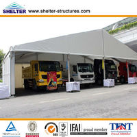 20m clear span car tent shelter