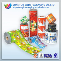 Hot new products for 2014 plastic container food packaging coffee packaging film roll