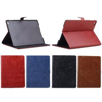 Colorful Cow Crazy Horse Leather Texture Case for iPad Mini 4