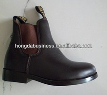 Low cut leather horse riding boot 2014-2015