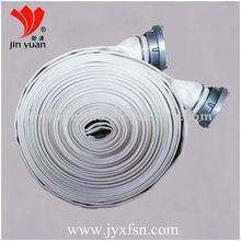 PVC PU Rubber lined canvas water hose