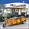 commercial passenger battery auto rickshaw with roof design