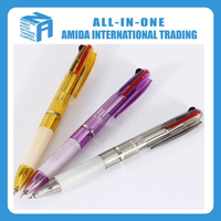 transparent ballpoint pen for promotion