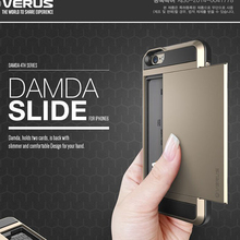 Genuine VERUS Damda Slide Armor Card Cover Case for iPhone 6 6 Plus