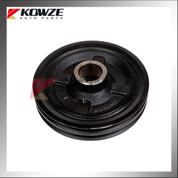 Crankshaft Pulley for Mitsubishi Pajero Sport Pickup Triton L200 V44 K94W K64T K74T MD374223
