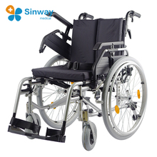 Seat Width and Seat Height Adjustable Wheelchair