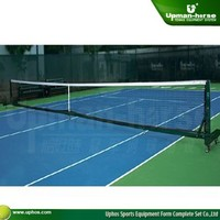 aluminum mobile square tennis post system