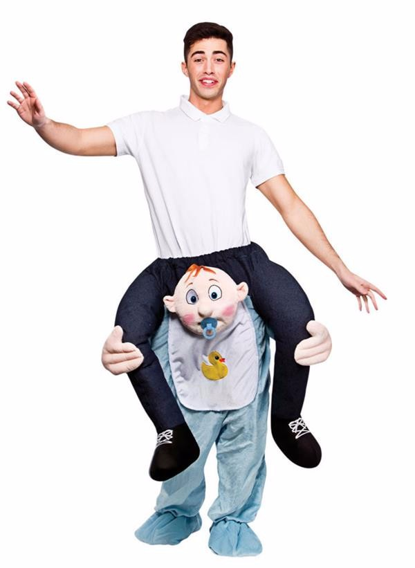 High Quality Funny Cartoon Adult Mascot Costume Carry me Baby Costume
