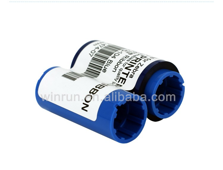 Compatible ribbon for Zebra 800015-104 Blue for Eltron P400C P420C P420i P430i