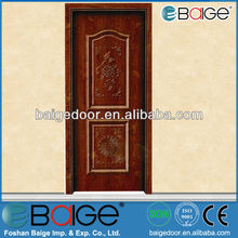 BG-MW9056 operating strong teak wood entrance room doors