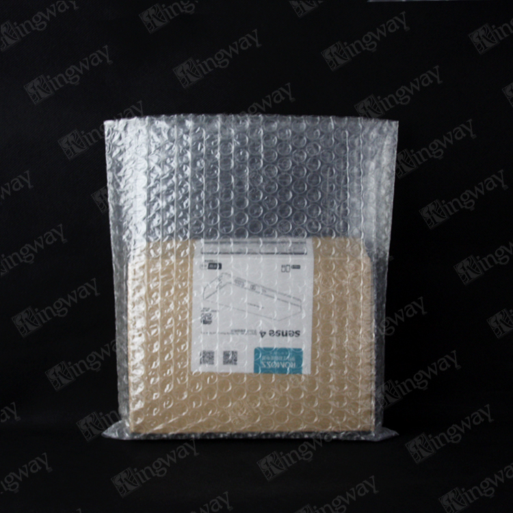 DIY make in China Clear anti-static PE air double bubble film bags/wrap for packaging