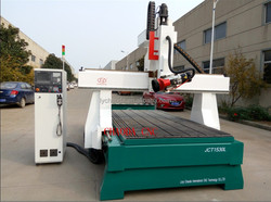cnc thermocol cutting machine / 180 degree 3d 4 axis cnc router