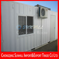 Container Living Room Shipping Container House