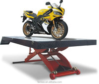 pneumatic motorcycle lift table ATV lift with CE certification Shanghai Fanbao QJY-S1