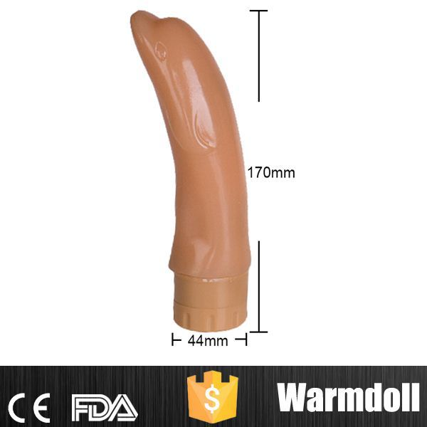 Cute Banana Design 100% Waterproof PVC Dildo Vibrator Water For Sex Girls